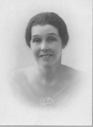 Mrs Jessie Minnie Snowsill nee Shave