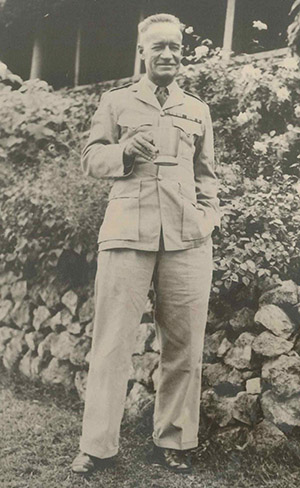 Lieut Colonel Hop Ackland