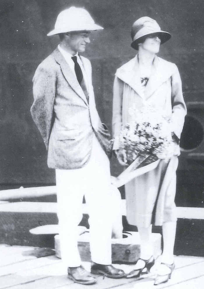 Arthur and Jessie Ackland