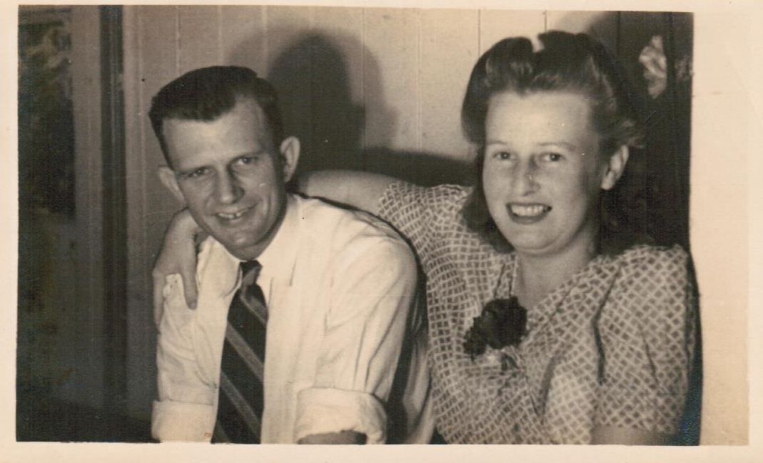 George & Joyce Towson - Married April 24, 1946
