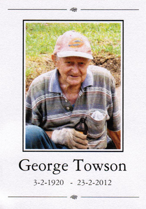George Towson, Horticulturalist