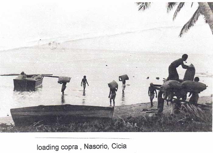 copra loading