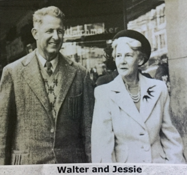 walter and jessie harvie