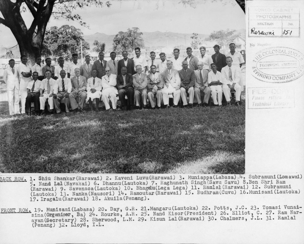 Chindi Mazdur Sangh Meeting, Rarawai 1956.