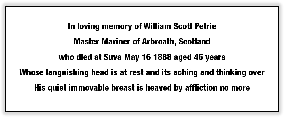 william scott petrie